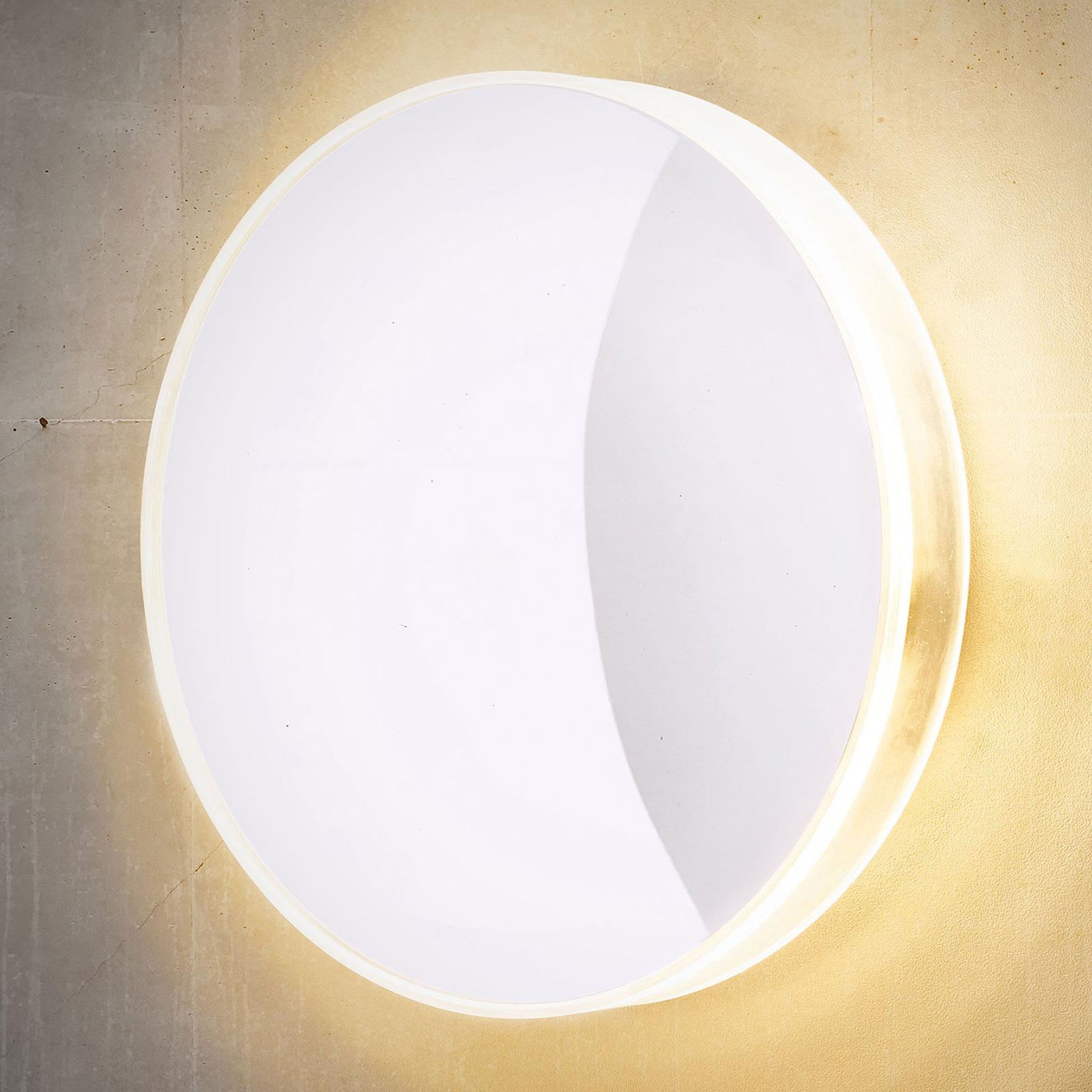 LED-Außenwandleuchte Marbella, weiß
