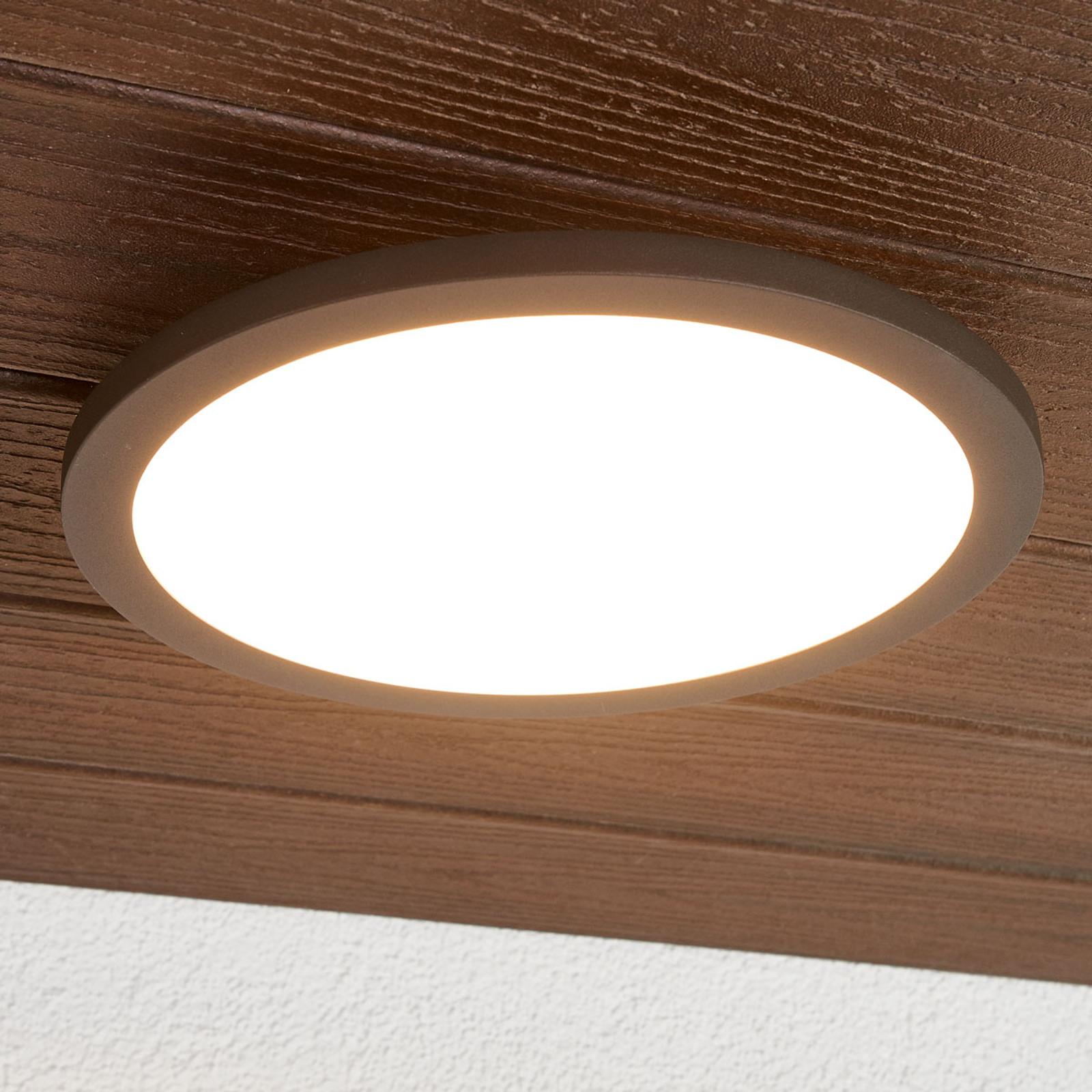 Malena utendørs LED-taklampe med sensor