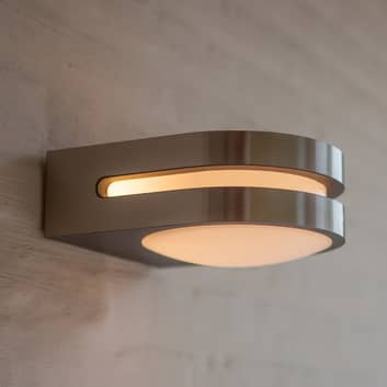 Applique d'extérieur LED Fancy, inox