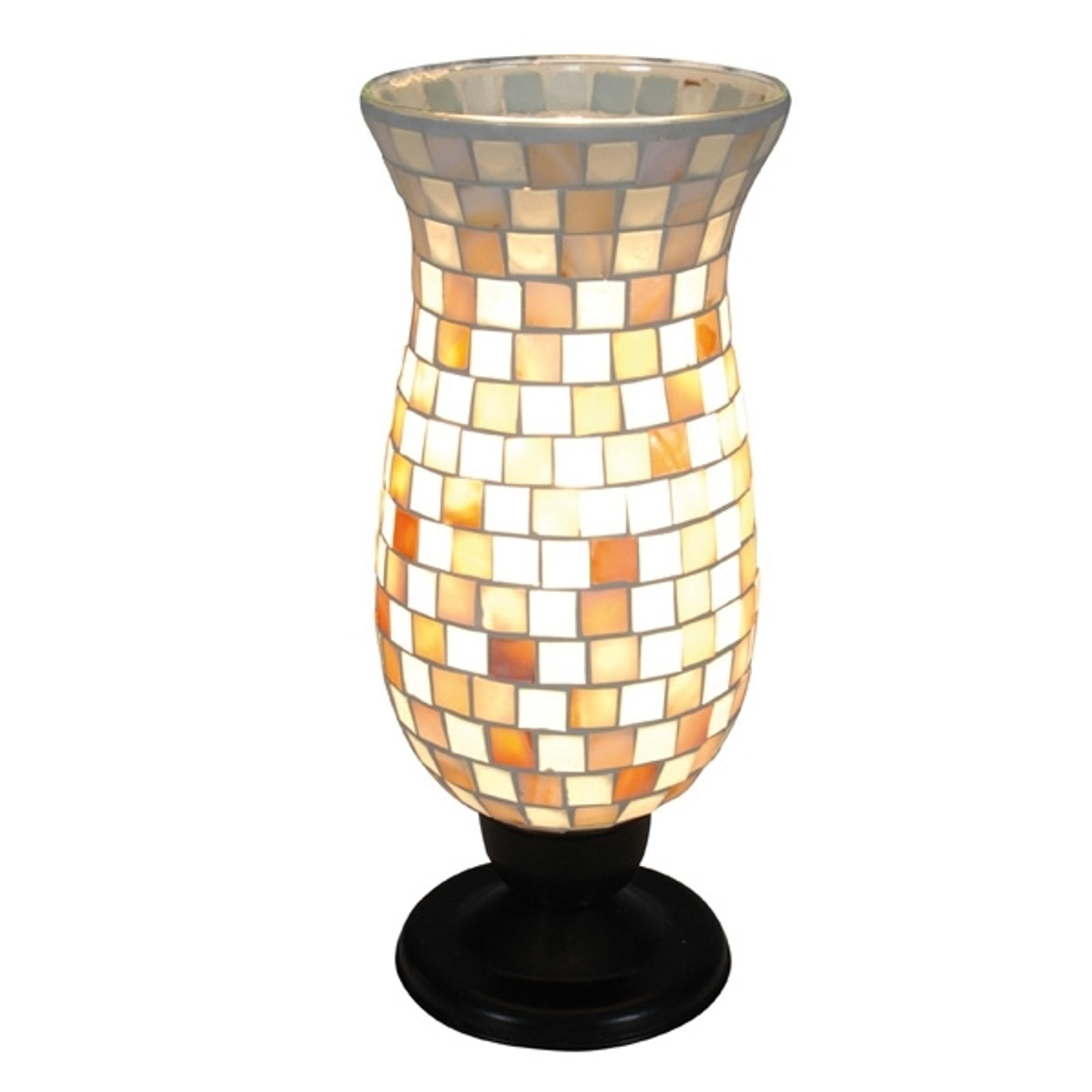 Tafellamp Yara met mozaïek kap