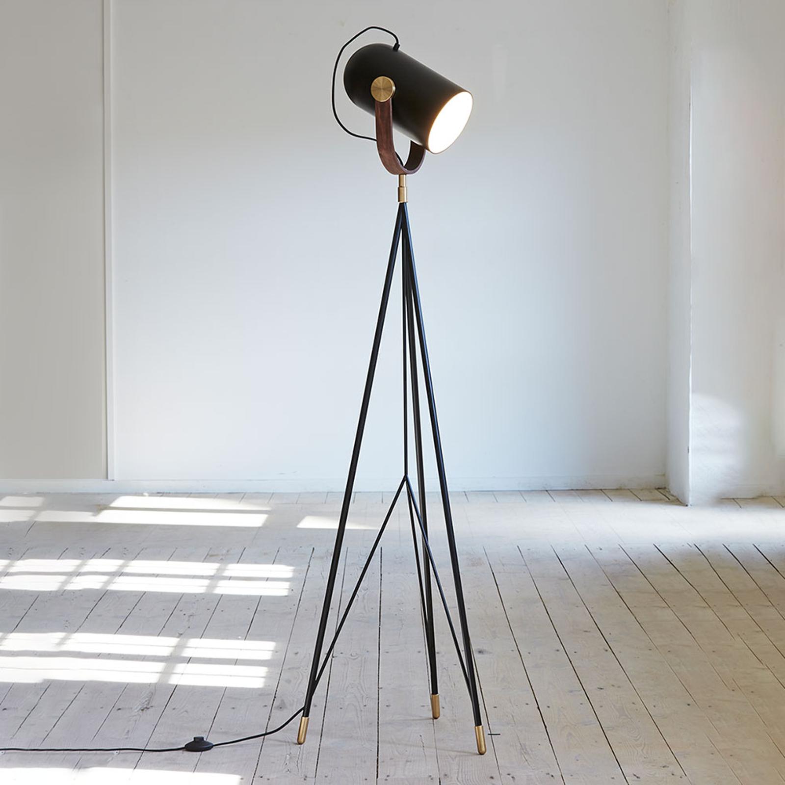 LE KLINT Carronade High - zwarte vloerlamp