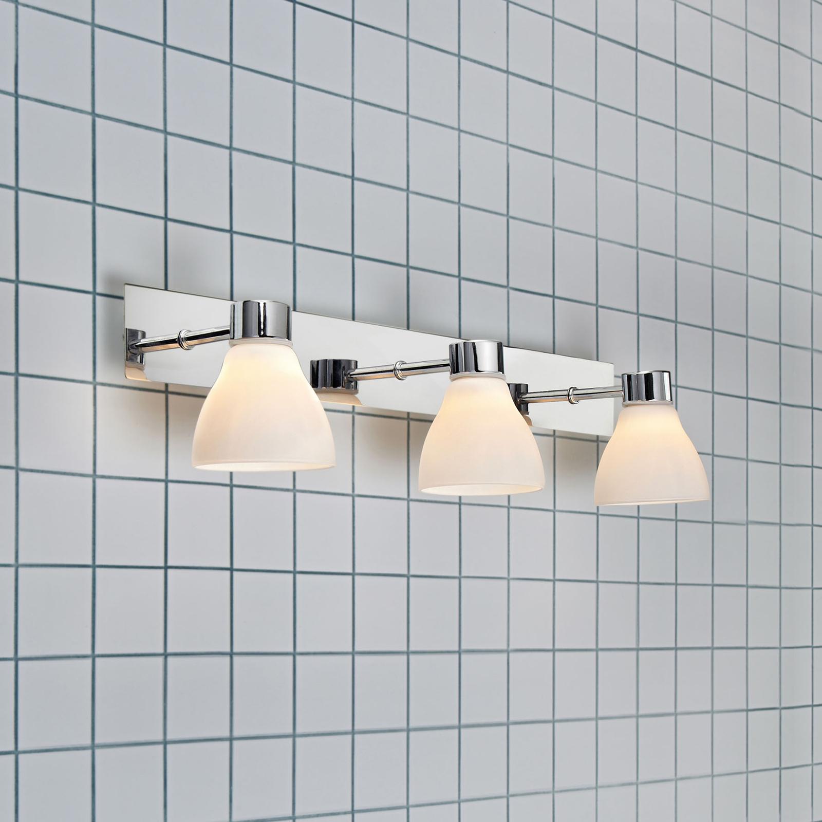 Applique de salle de bain Cassis, à 3 lampes