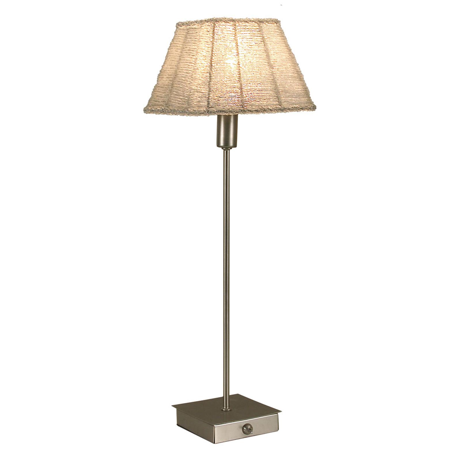 Tafellamp Pearl vierkante uitvoering wit