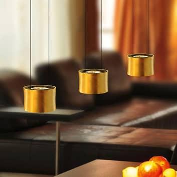 BANKAMP Impulse LED-hængelampe 3lk, guld