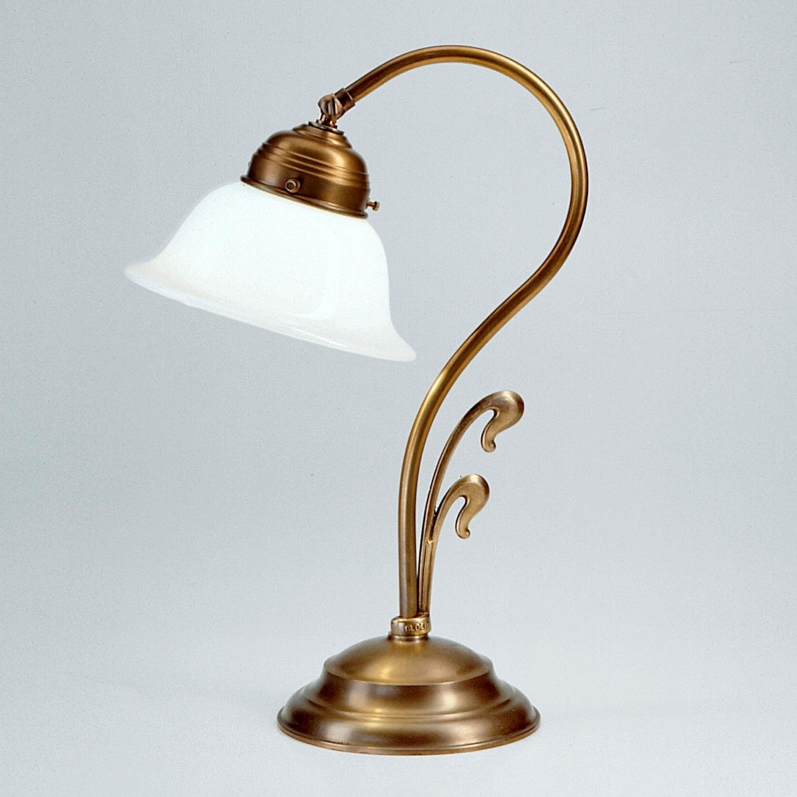 Svängd bordslampa Hannelore