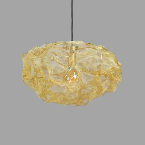 Northern Heat lampada sospensione, ottone, Ø 55cm