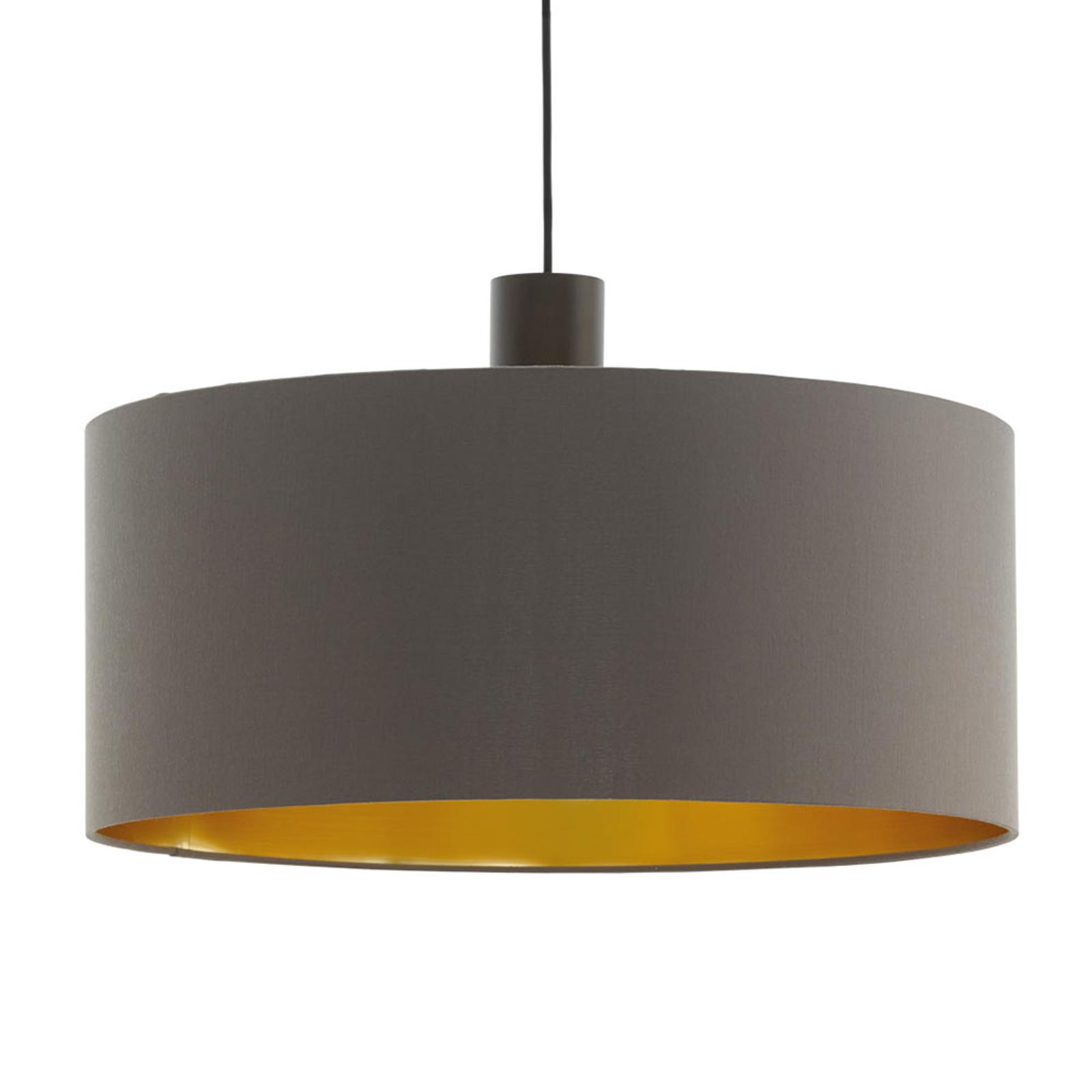 Hanglamp Concessa cappuccino/goud Ø 53 cm