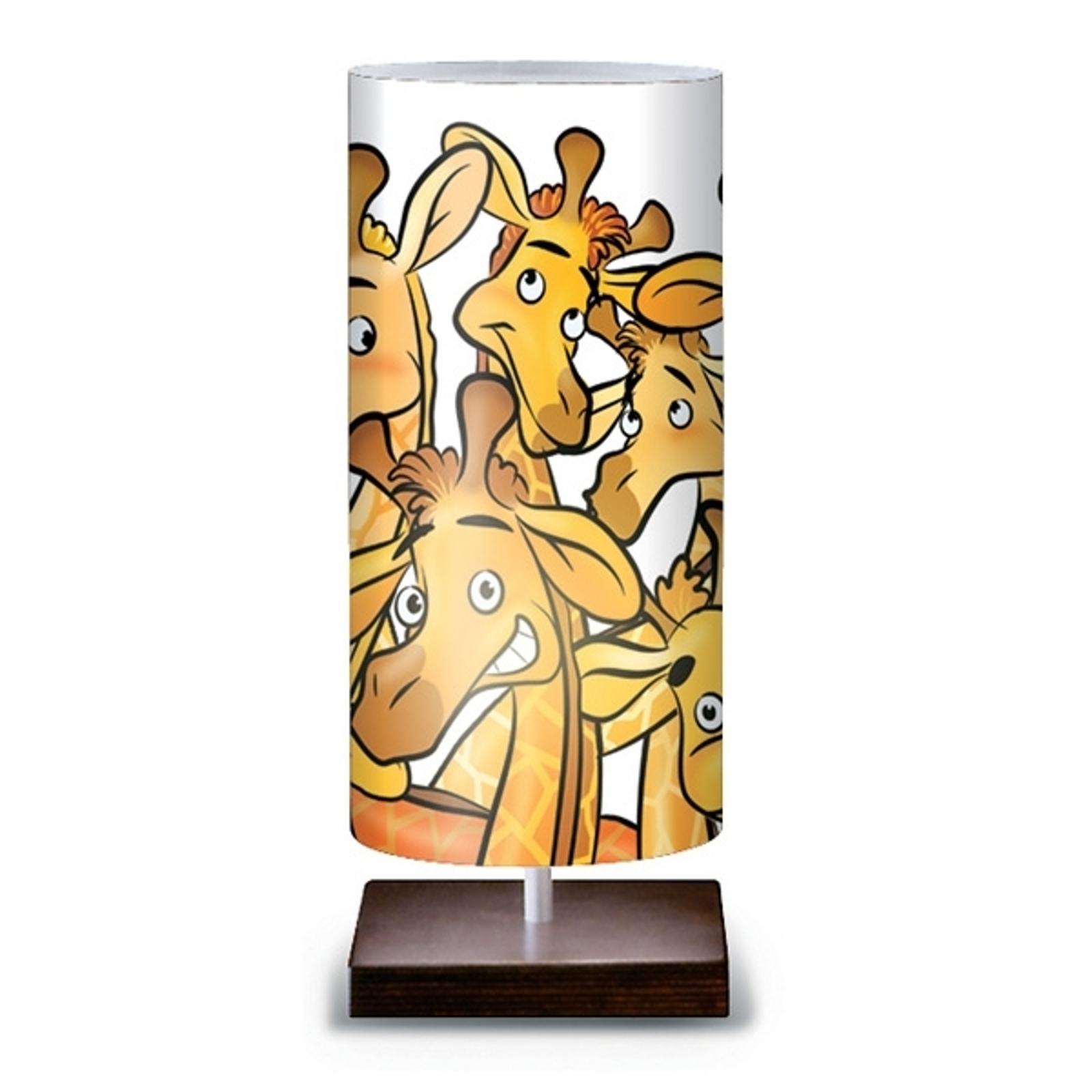 Hauska Giraffe-pöytävalaisin