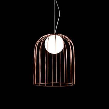 Měděné stínidlo - design závěsné světlo Lamp Kluvi