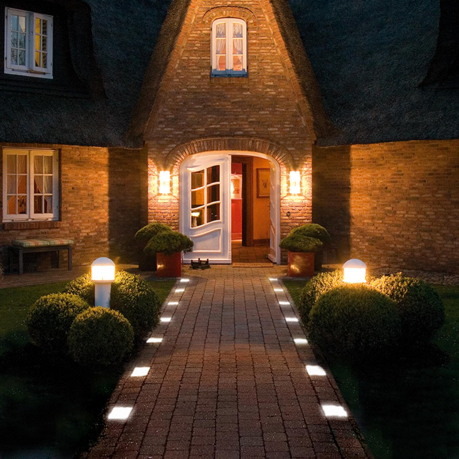 Pflasterstein Light Stone Beton mit LED 6 cm