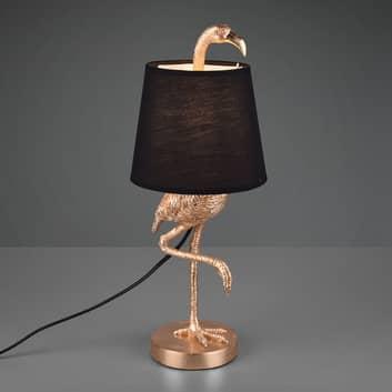 Lampa stołowa Lola z figurą flaminga