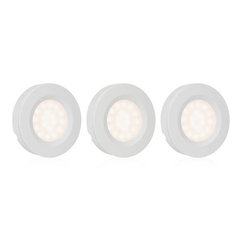 Lampe sous meuble LED ISL-60015 lot de 3, capteur