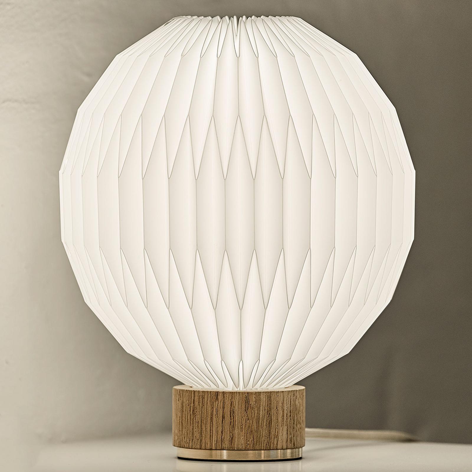 LE KLINT 375 bordlampe, plastskærm, 25 cm
