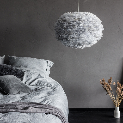 UMAGE Eos large lámpara colgante gris claro