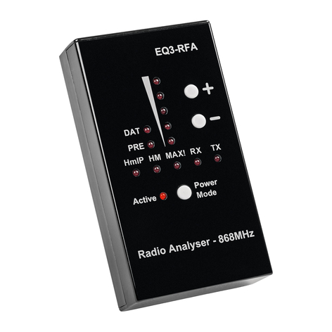 Homematic IP analizzatore radio, 868 MHz