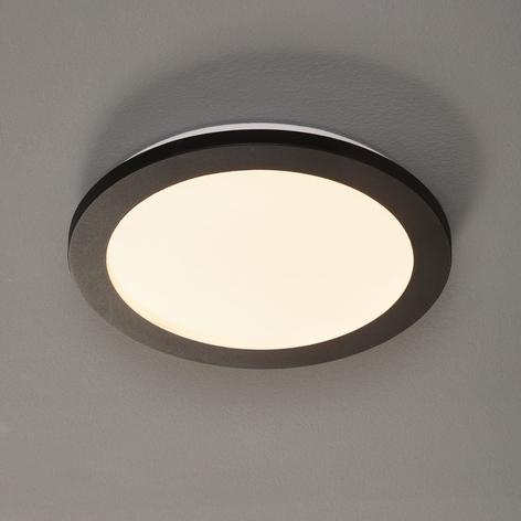 LED-taklampe Camillus, rund