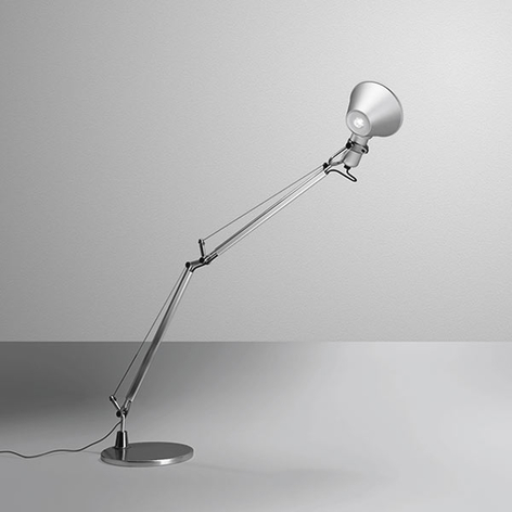 Artemide Tolomeo Midi lampe à poser LED, alu