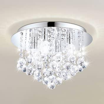 Lampa sufitowa LED Almonte z ozdobami
