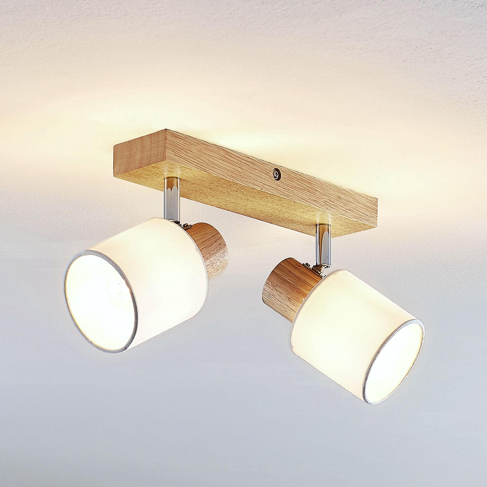 Lindby Wanessa stropní bodové světlo, dvoužár.
