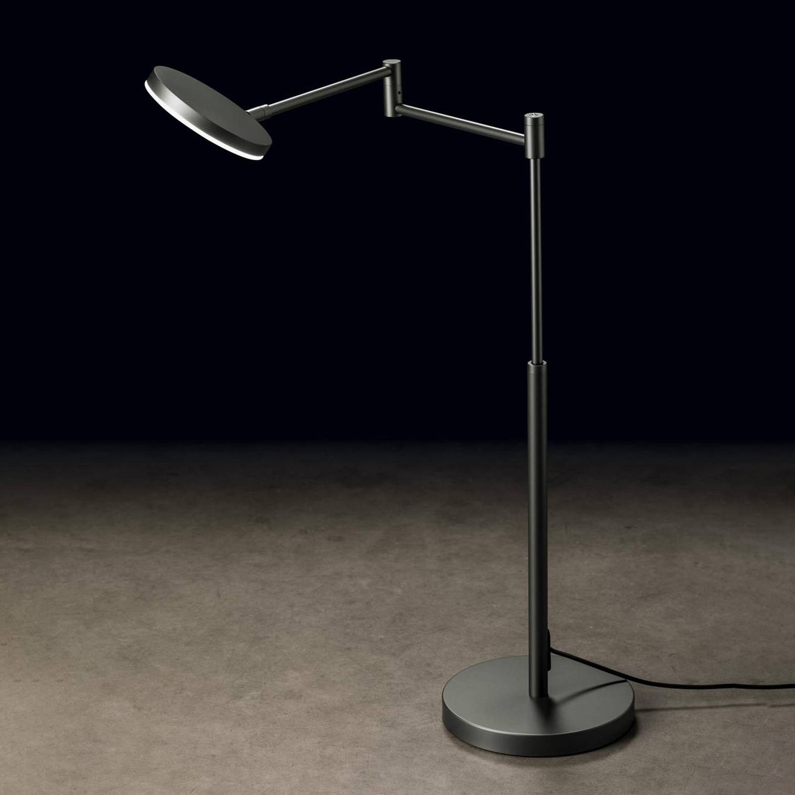 Holtkötter Plano T lampe à poser LED platine