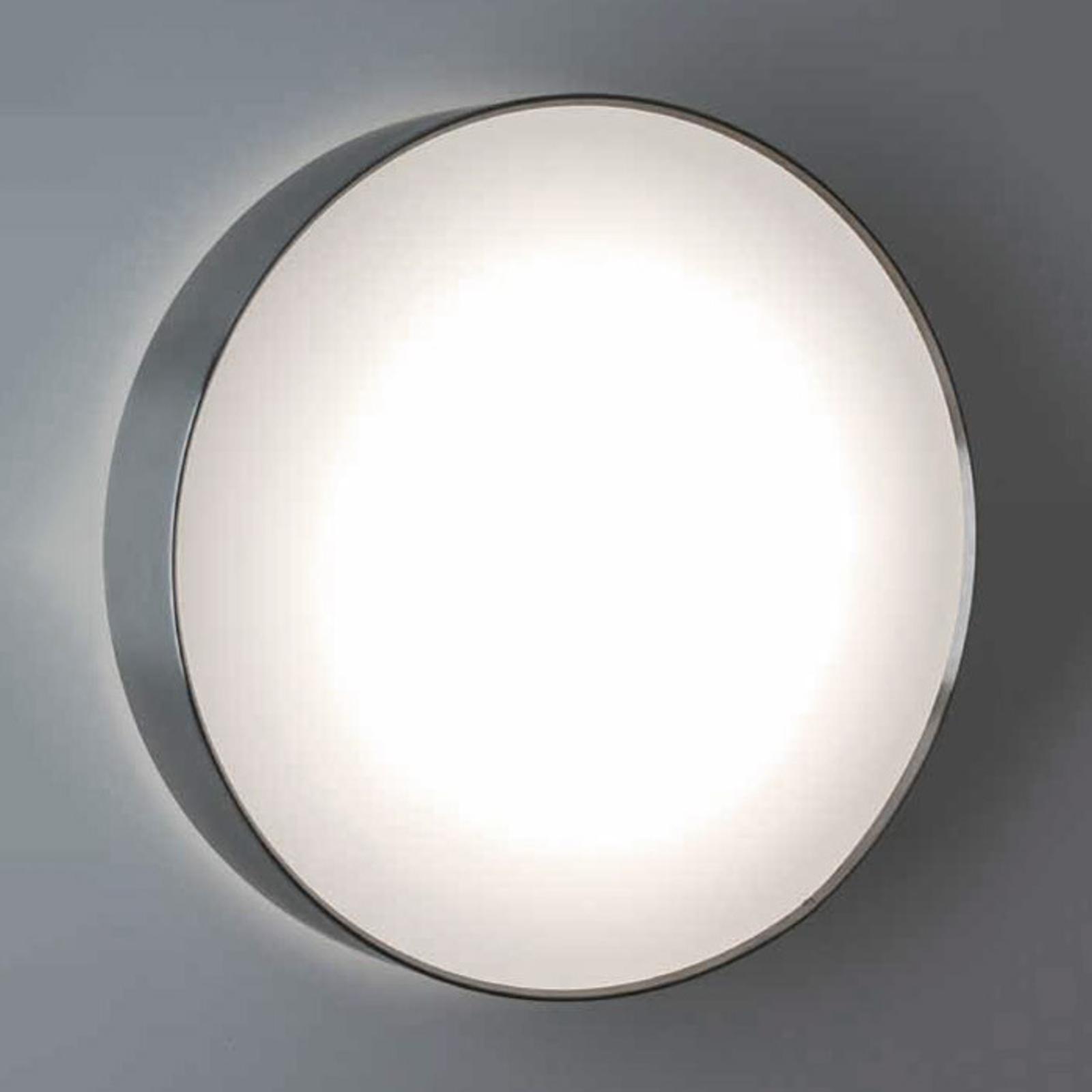 Vägglampa rostfritt stål SUN 4 LED, 8W 4K