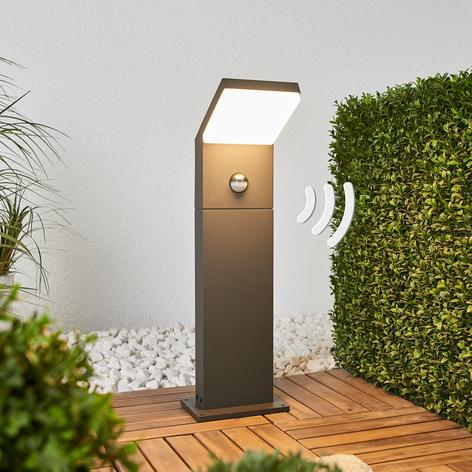 Borne lumineuse LED Yolena 60 cm, détecteur