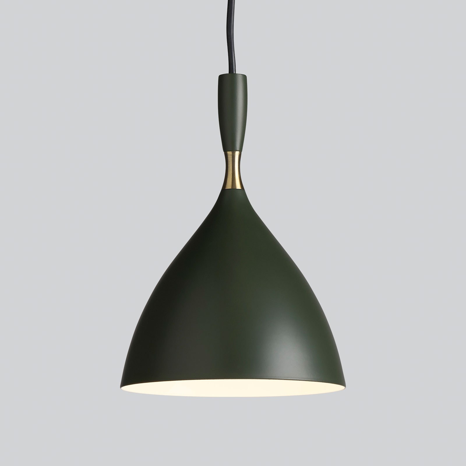Northern lampa wisząca Dokka ciemnozielona