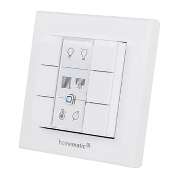 Homematic IP interruptor de pared, síxtuple