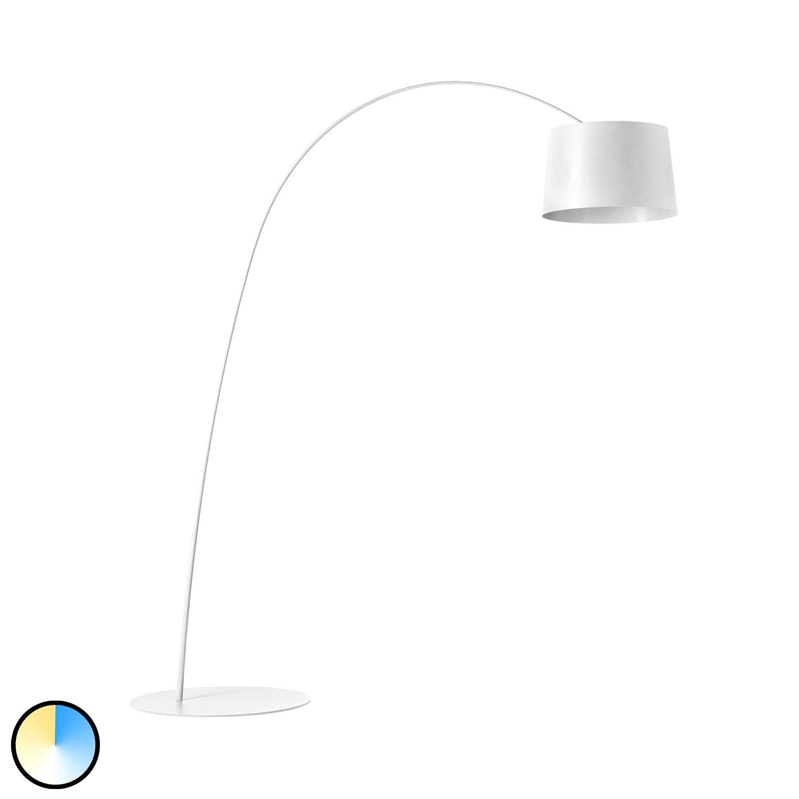 Foscarini MyLight Twiggy LED ad arco, bianco