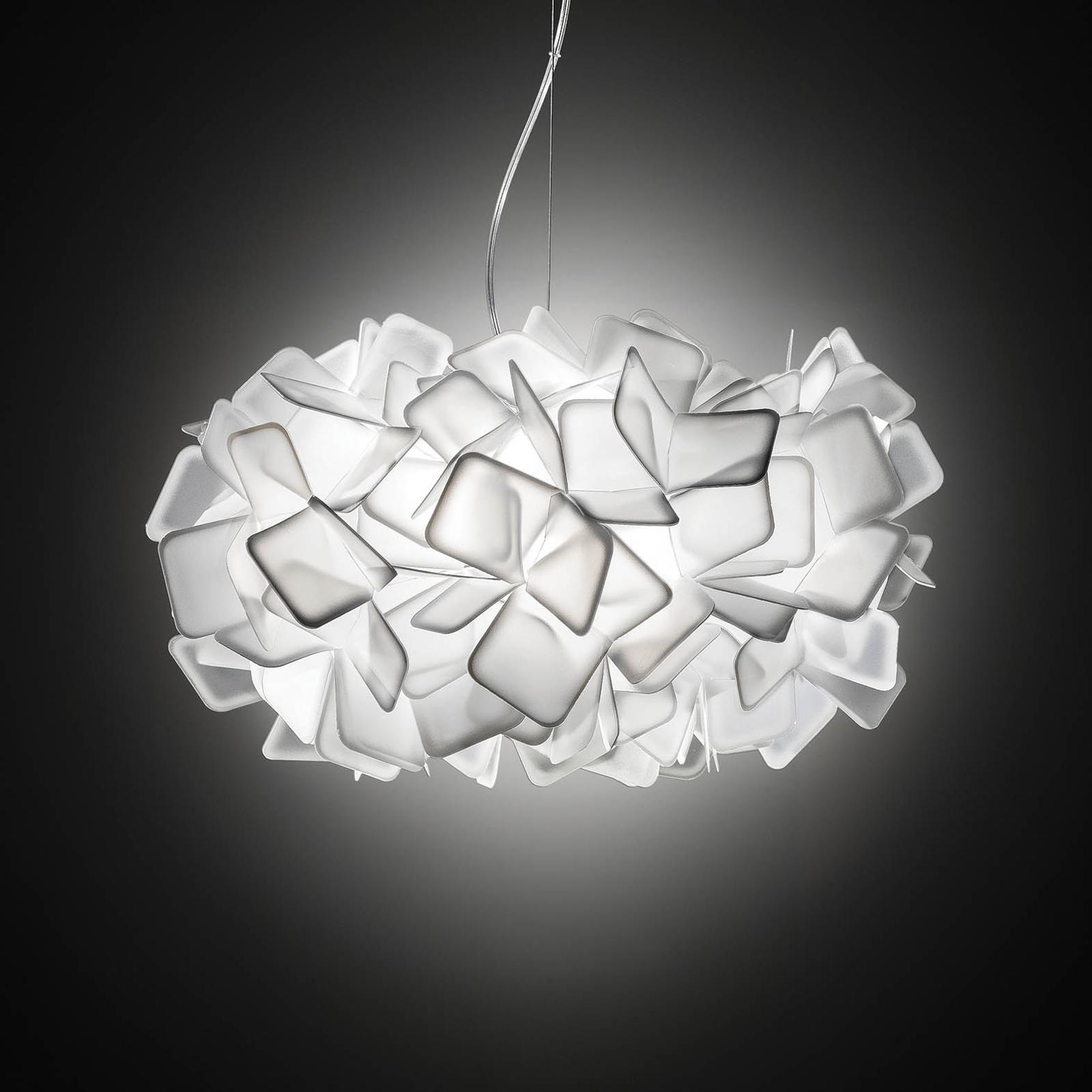 Slamp Clizia - designové závěsné světlo, bílé