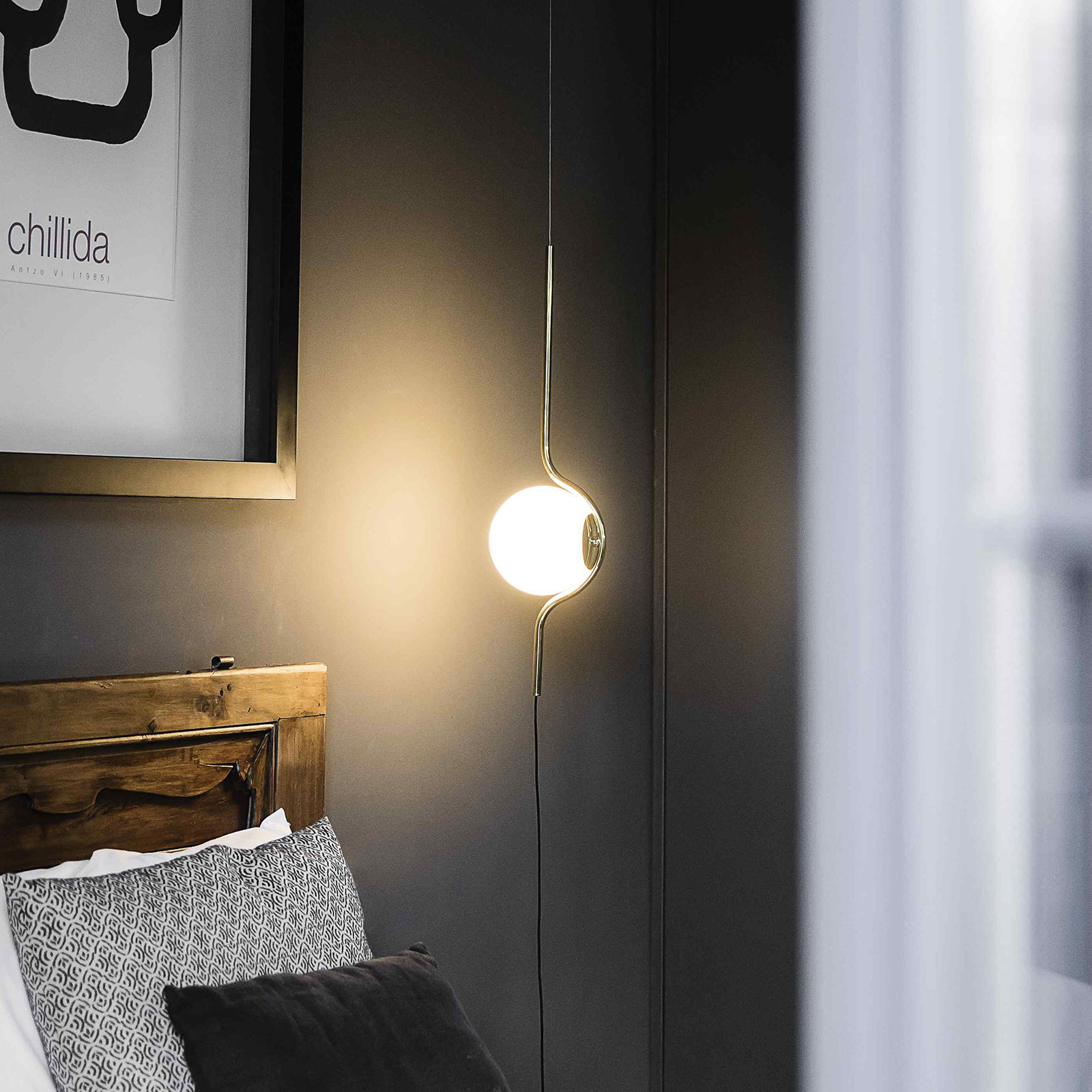 Suspension LED Le Vita, 1 lampe debout