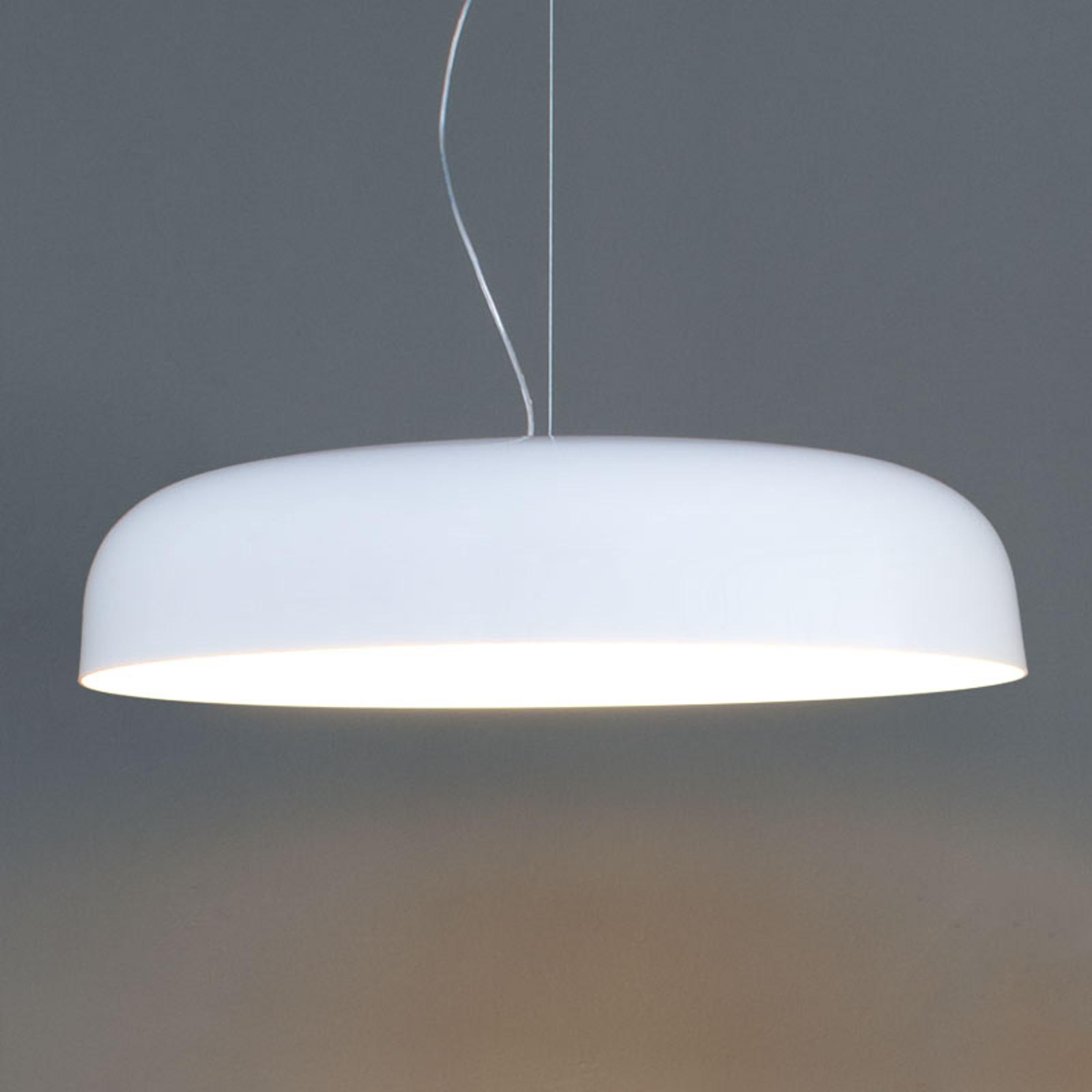 Oluce Canopy - hanglamp, 90 cm, wit