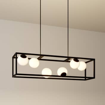 Lindby Utopia lámpara colgante LED, 6 luces