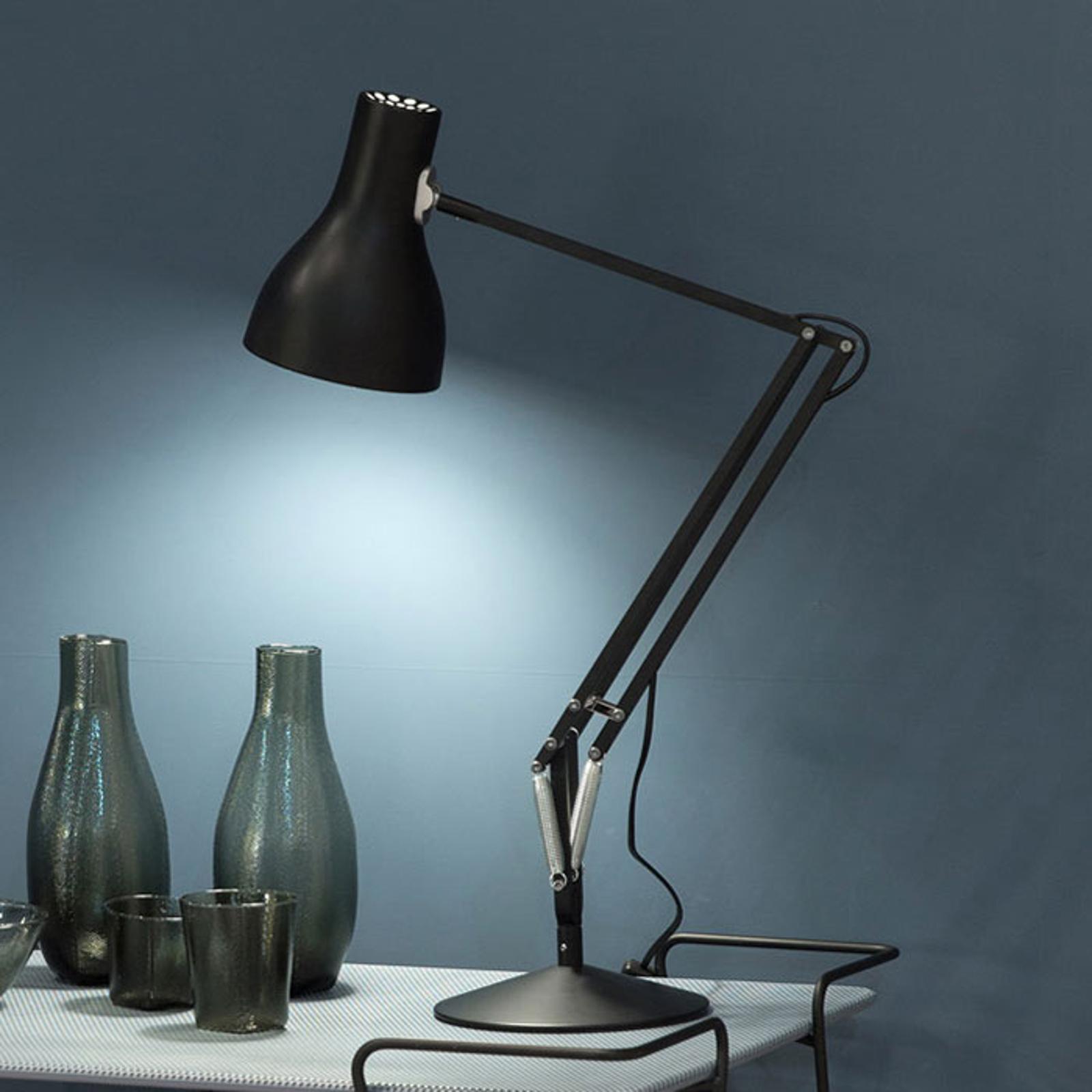 Anglepoise Type 75 lampe à poser, noir velours