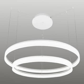 Pierścieniowa lampa wisząca LED Circ, 80cm