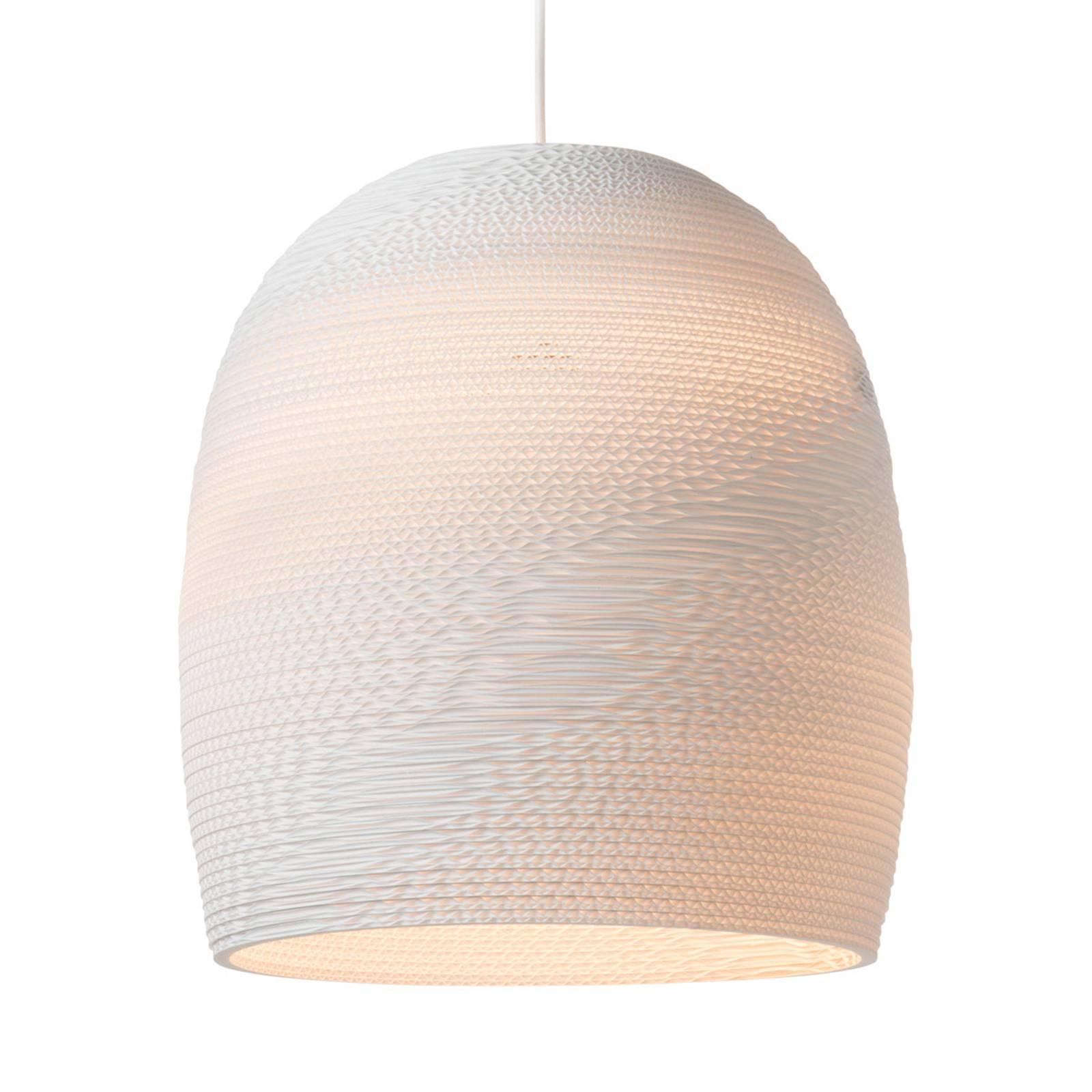 Lampa wisząca Bell biała Ø 38 cm