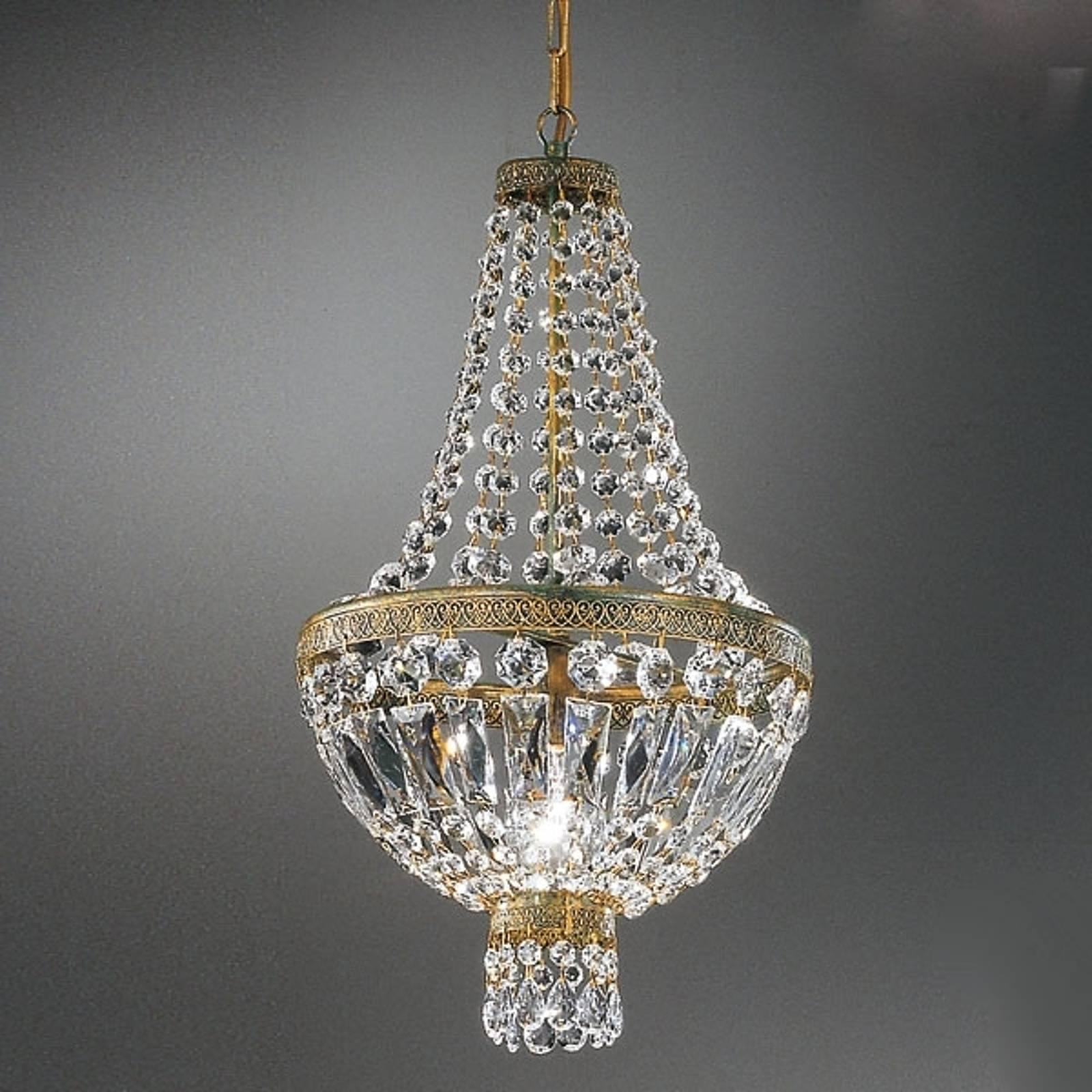 Kryształowa lampa wisząca CUPOLA