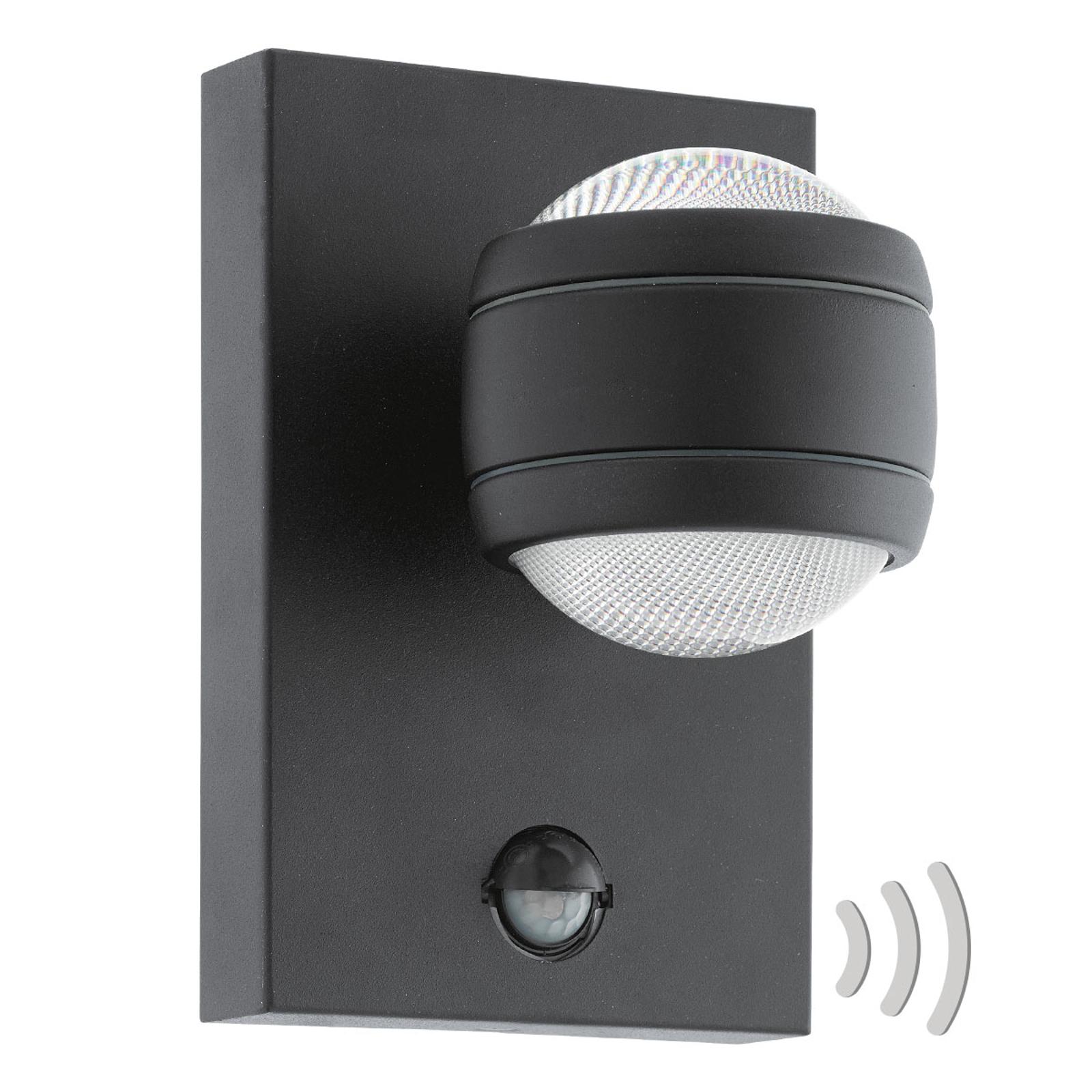 LED buitenwandlamp Sesimba 1 met bewegingsmelder