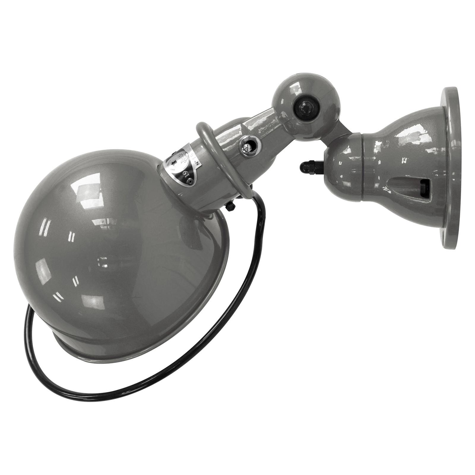 Jieldé Loft D1000 wandlamp industrieel grijs