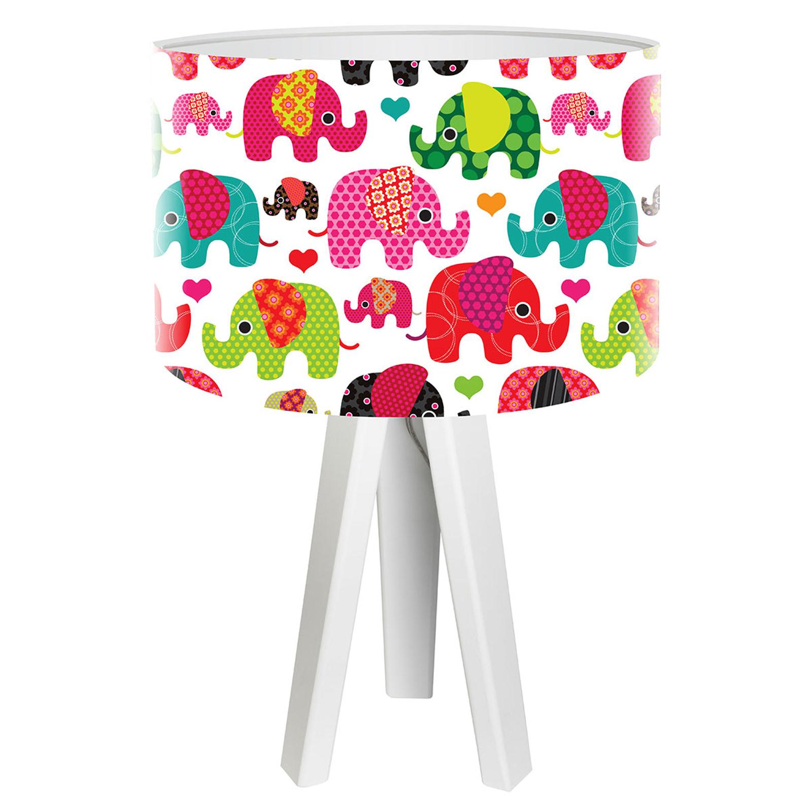 Kindgerechte Tischleuchte Elefant