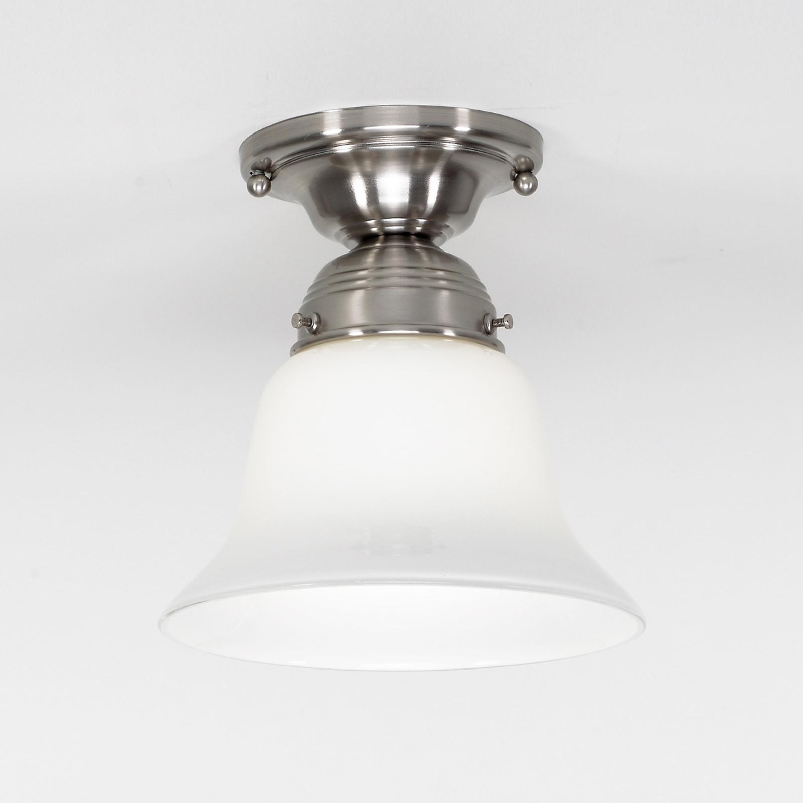 Lampada da soffitto Alena nichel opaco