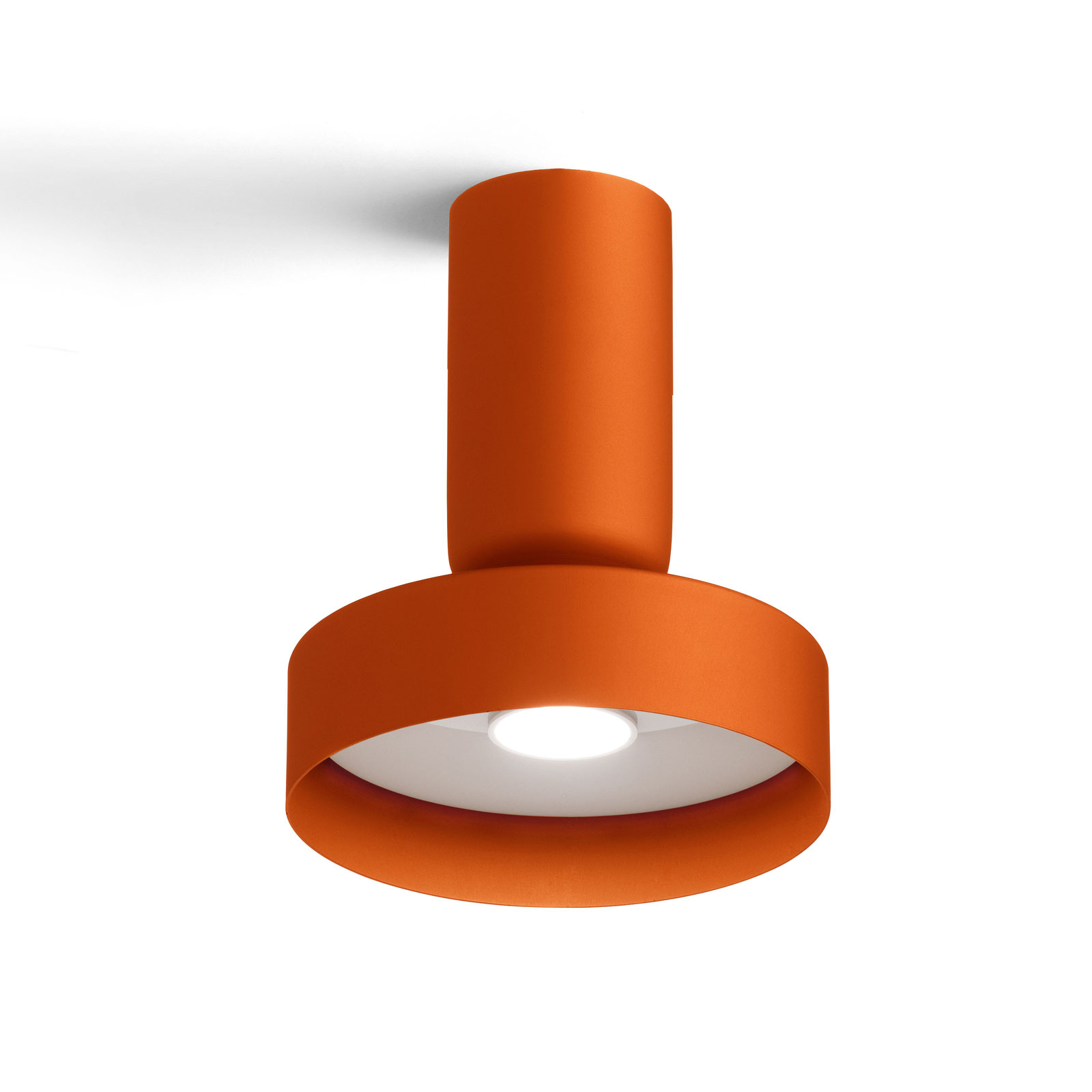 Modo Luce Hammer Deckenlampe Ø 18 cm orange