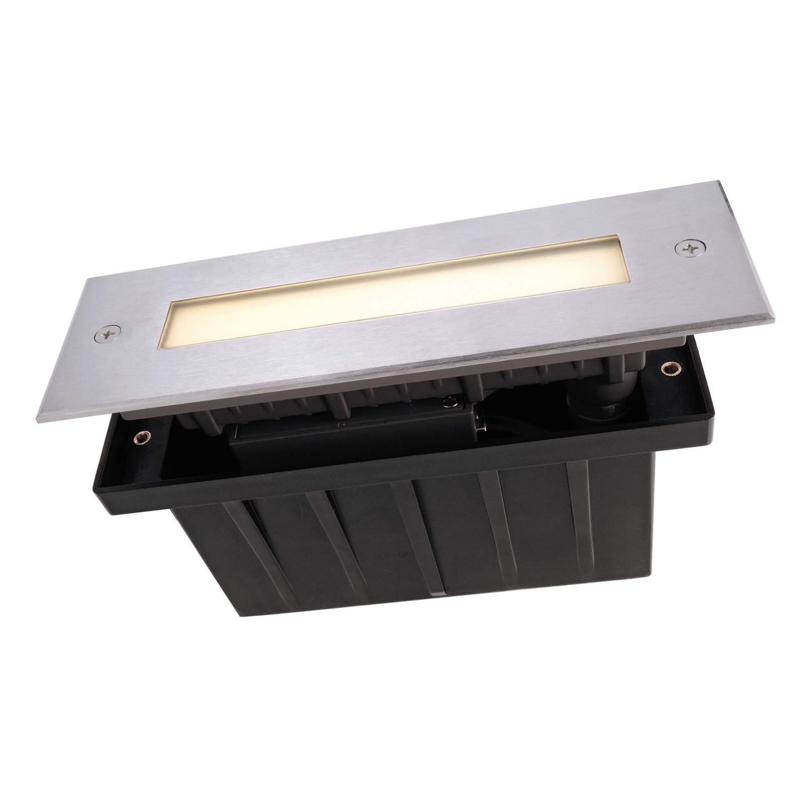 Spot encastrable dans le sol LED Line, 18,3 cm