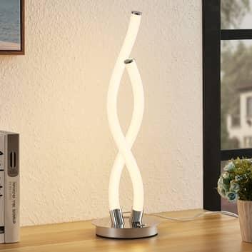 Lucande Wewa LED tafellamp, dimbaar in 3 stappen