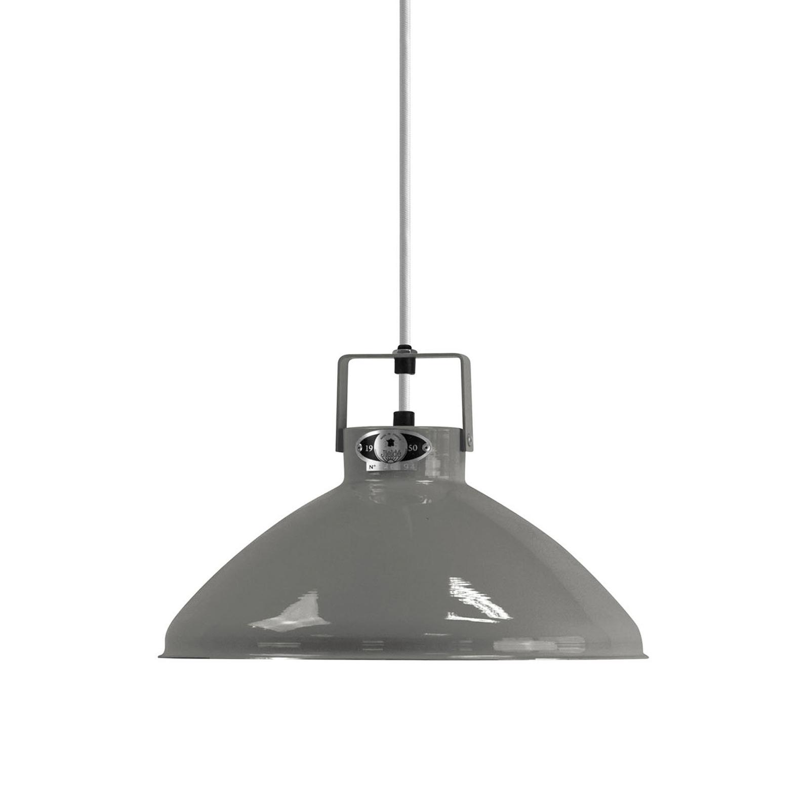 Jieldé Beaumont B240 lampa wisząca szara lśniąca
