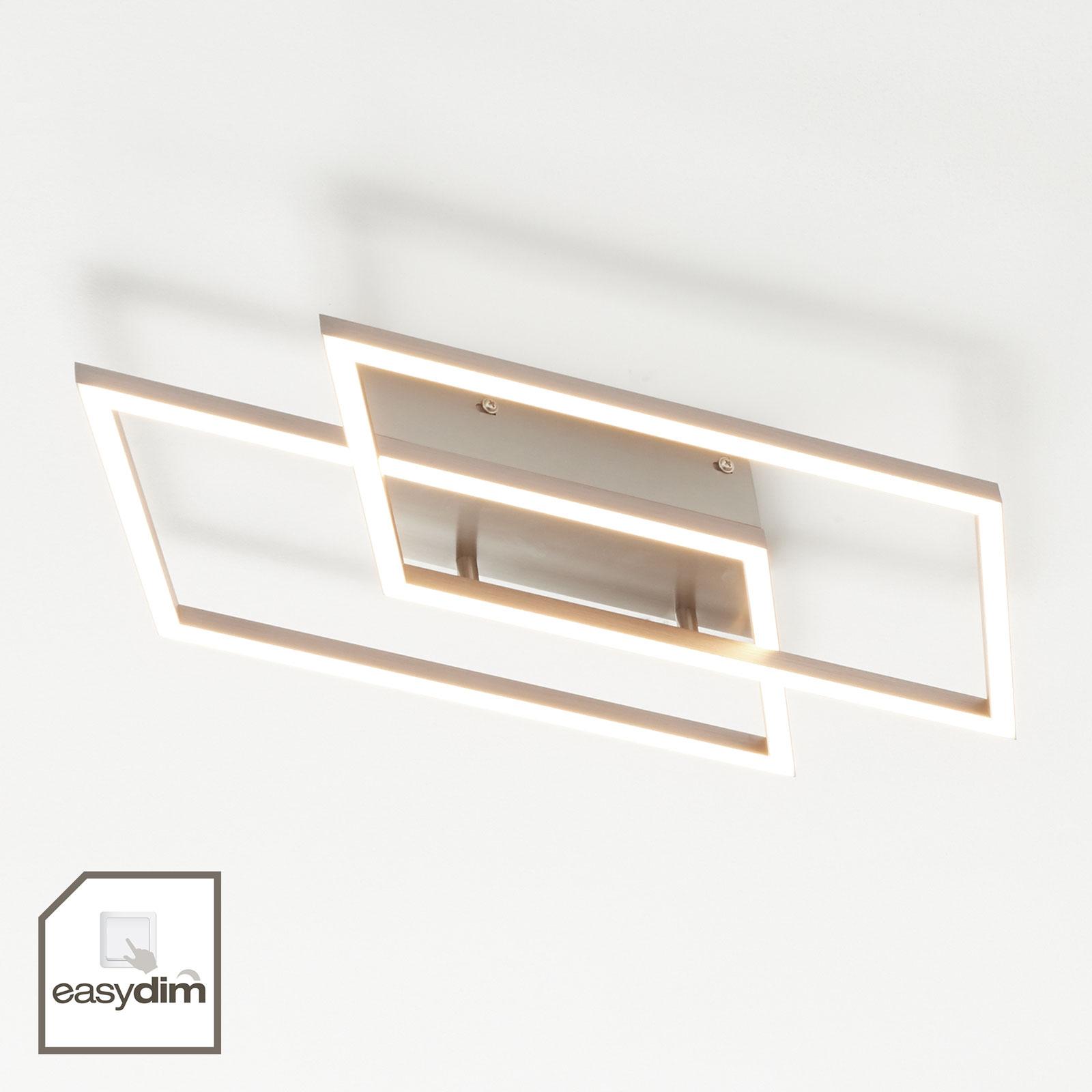 LED plafondlamp Inigo met 2 lampjes lengte 53,8 cm