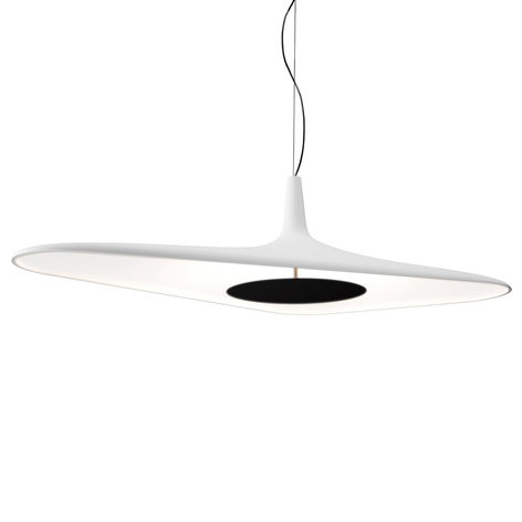 Luceplan Soleil Noir - suspension LED, blanche