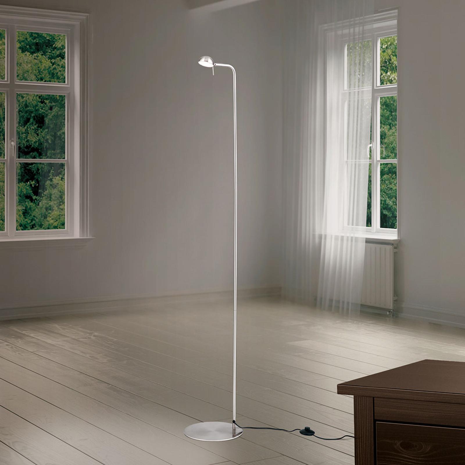 Acquista Lampada LED da terra Student paralume orientabile