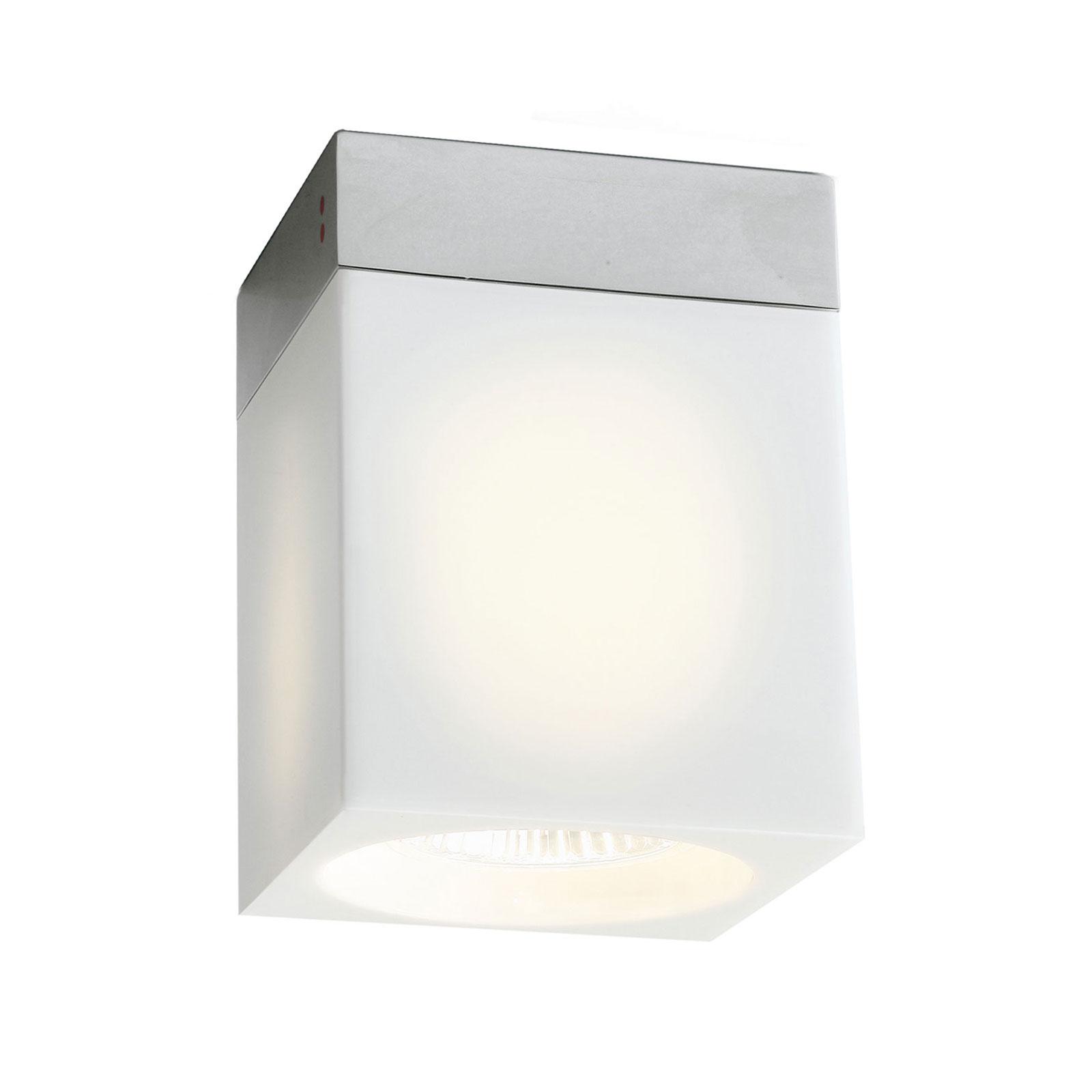 Cubetto lampa sufitowa 1-punktowa, biała