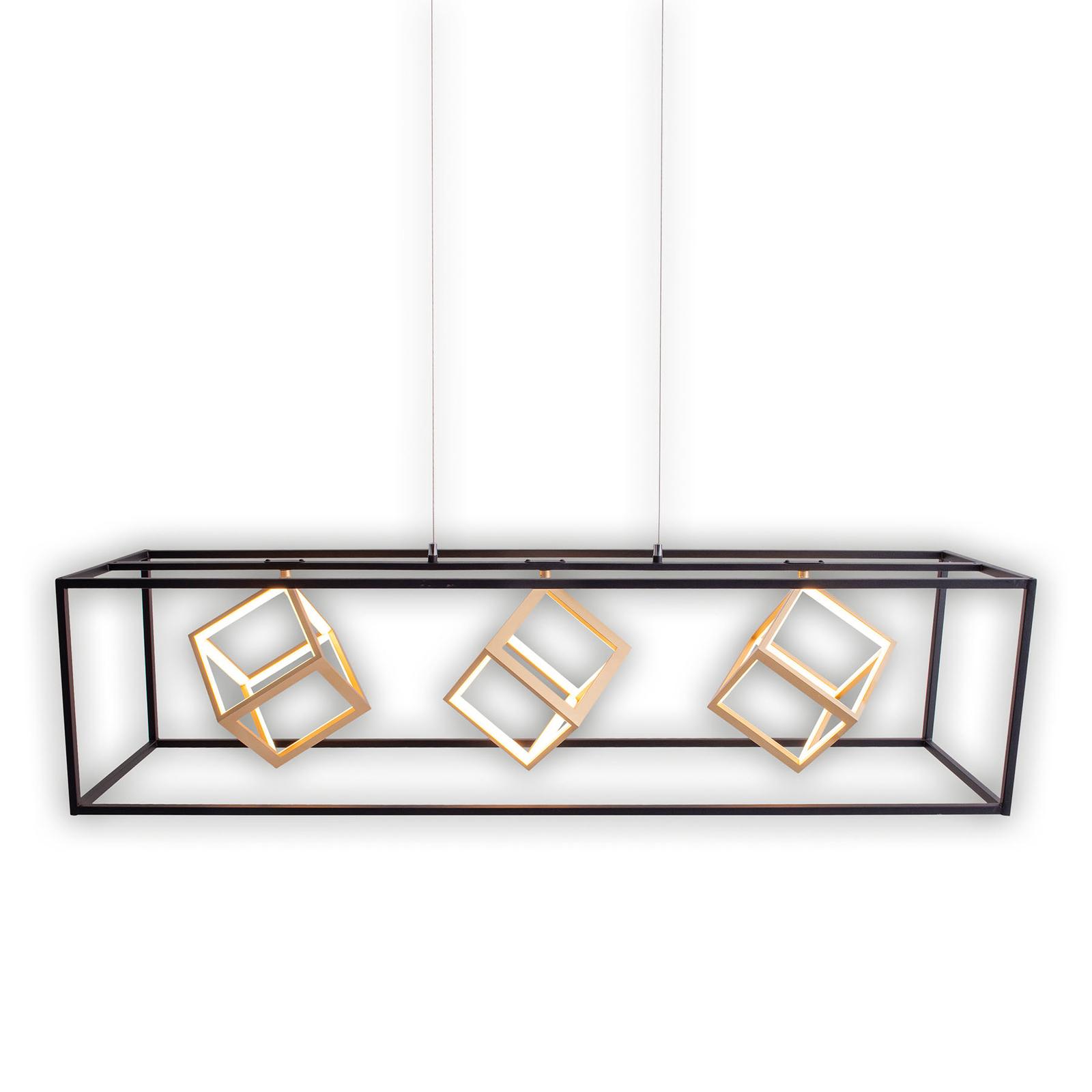 LED závěsné světlo Tripolis, 3x stmívatelné